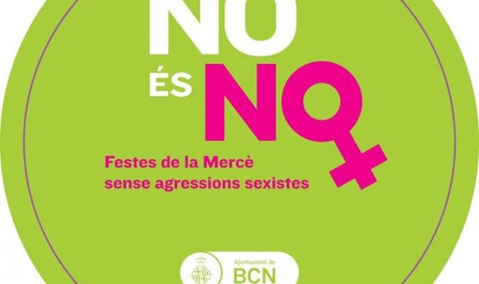 """Imatge de la campanya """"No és No"""""""