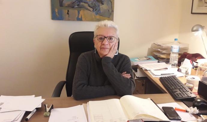 Marisa Fernàndez és la responsable d'igualtat de l'associació dones juristes. Font: Marisa Fernàndez.