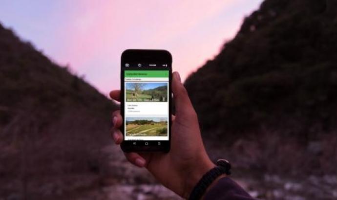 Nova APP mòbil de Campaments i Més / Foto: Minyons Escoltes i Guies de Catalunya Font: