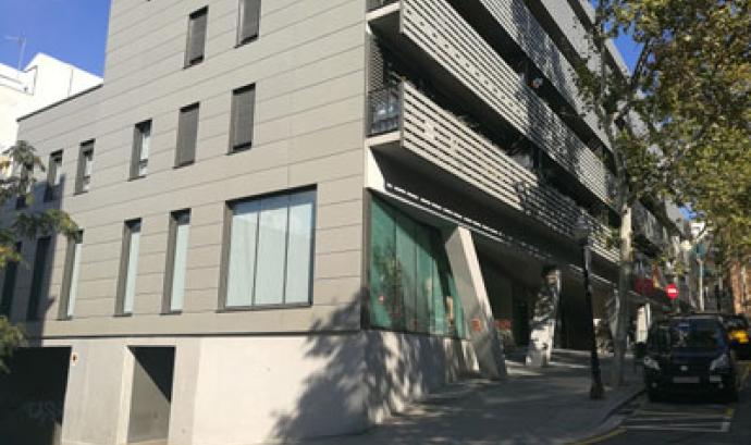 Edifici en què es troba la nova seu de l'entitat Font: