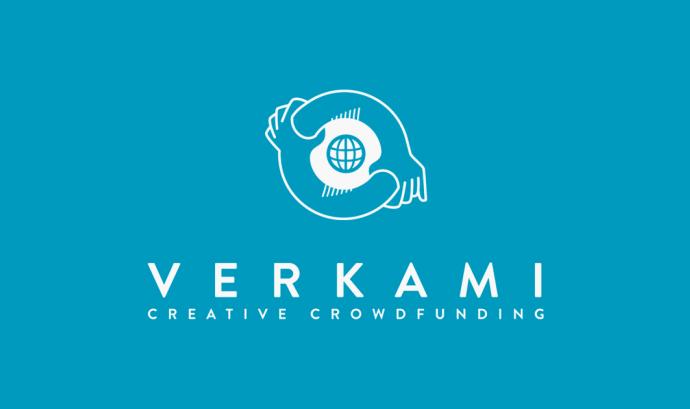 Logotip de Verkami, una de les plataformes que tindrà representació durant la sessió del 7 de novembre. Font: Verkami