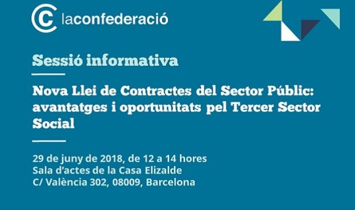 Nova llei de contractes del sector públic: avantatges i oportunitats pel Tercer Sector Social