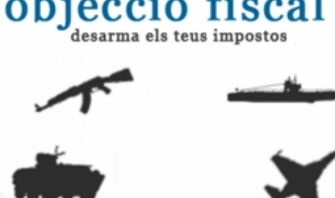 Campanya d'objecció fiscal a la despensa militar.