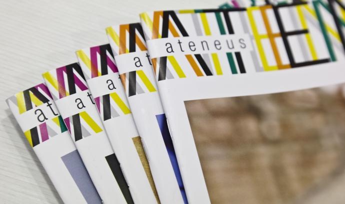 Caçalera de la Revista Ateneus de la Federació d'Ateneus de Catalunya