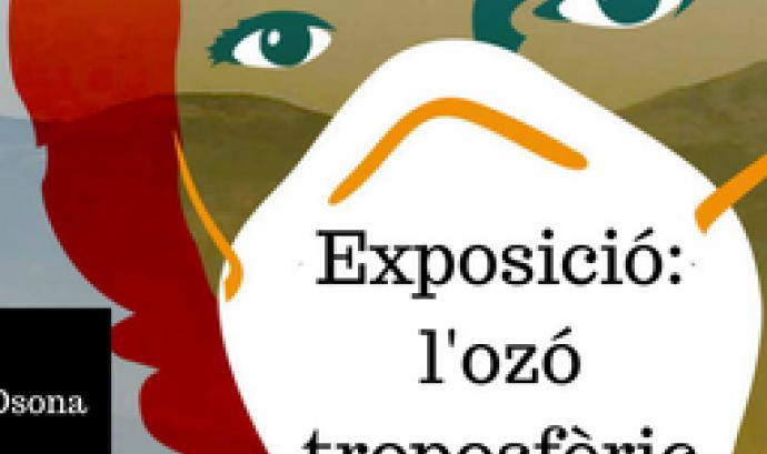 Cartell de l'exposició 'L'ozó troposfèric a Catalunya'