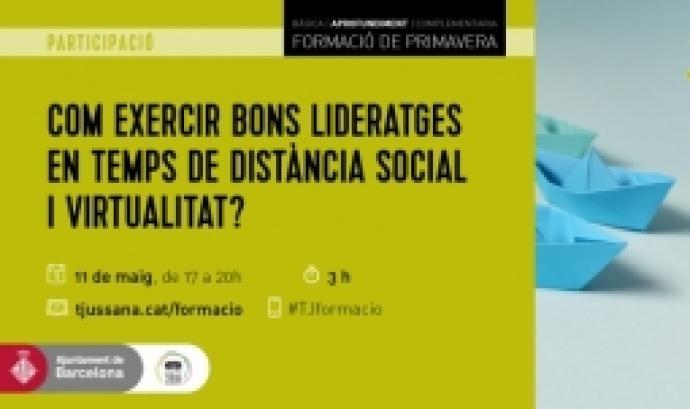 #TJformació: Com exercir bons lideratges en temps de distància social i virtualitat?