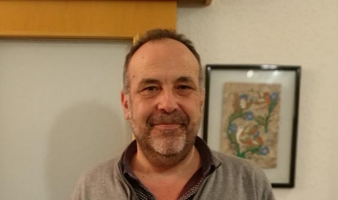 Paco Estellés, educador i treballador social.  Font: P. E.