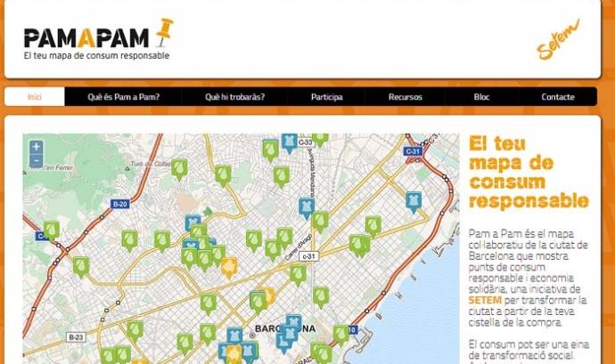 Pam a Pam, el mapa de consum responsable de Barcelona Font:
