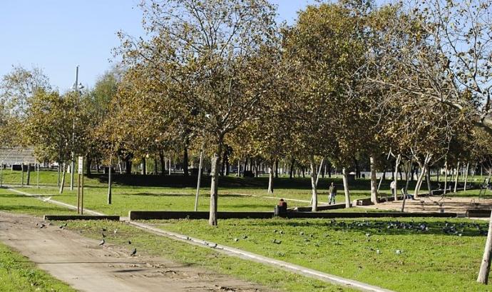 El Parc del Besòs es troba just al marge d'aquest riu. Font: Pere O.