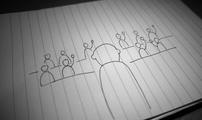 Participació ciutadana. Font: Matt Cornock (Flickr)