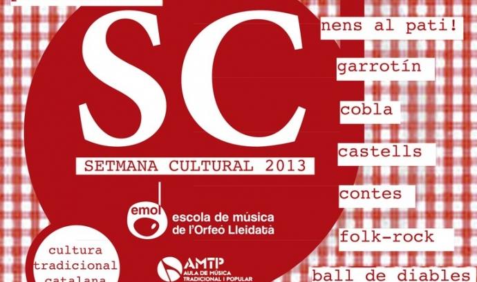 Imatge gràfica de la setmana de la cultura popular de Lleida Font: