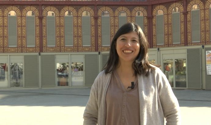 La Patricia Tárraga és coordinadora d'Ulls del món a Bolívia. Font: LaviniaNext
