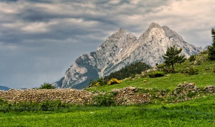 Una vista del Pedraforca Font: Viquipèdia