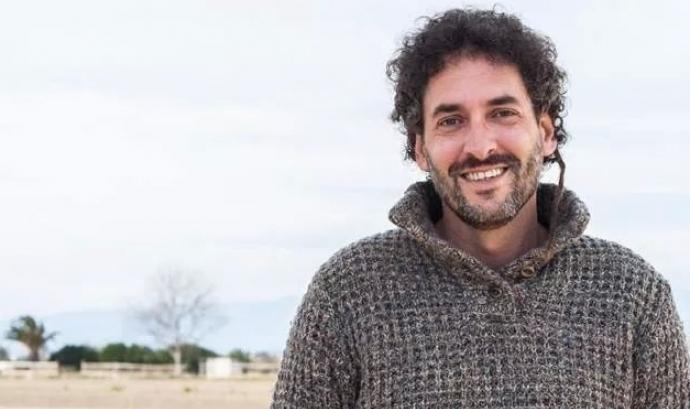 Pere Magrané, president de l'Associació de Voluntaris del Parc Natural del Delta de l'Ebre (imatge: Roser Arques Morueta) Font: