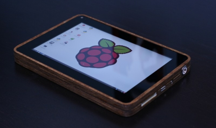 PiPad, la tauleta basada en Raspberry Pi Font: