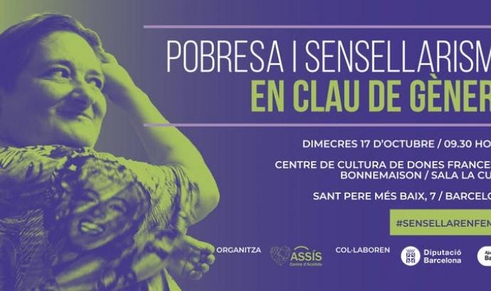 Jornada 'Pobresa i Sensellarisme en clau de gènere'