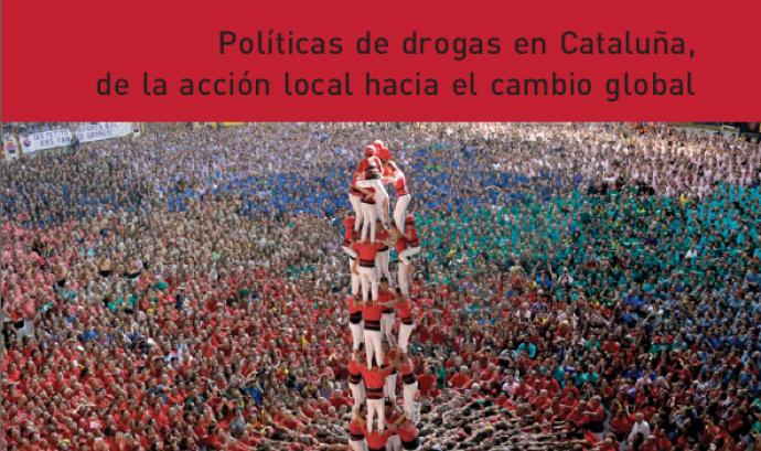 Portada de l'informe sobre política de drogues a Catalunya Font:
