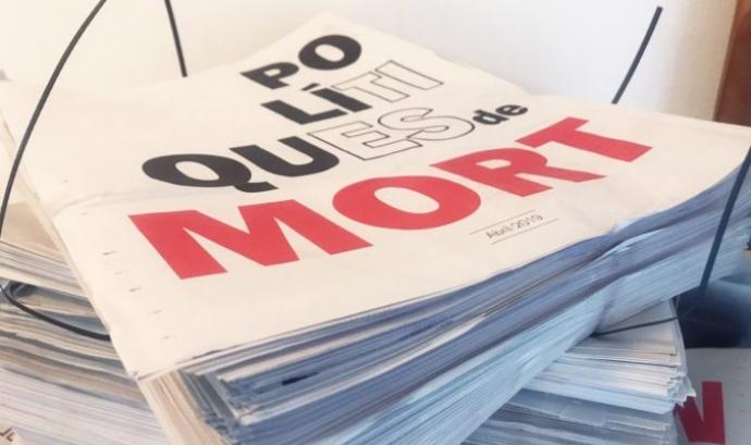 La plataforma exigeix un compromís als partits polítics pel que fa a polítiques d'asil. Font: Stop Mare Mortum