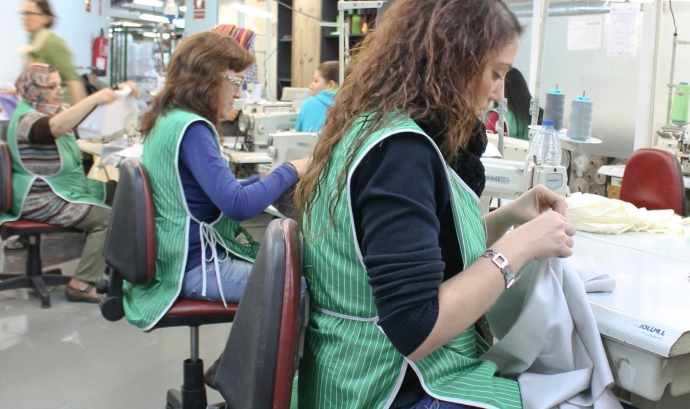 Reinserció laboral: un repte més per a dones en situació de vulnerabilitat   Font: