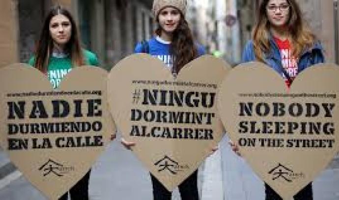 Campanya internacional contra el sensellarisme