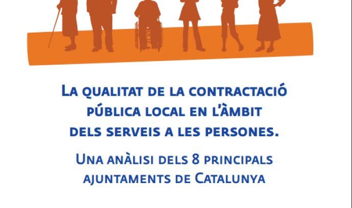 La portada de l'informe de la Taula del Tercer Sector. Font: Taula del Tercer Sector