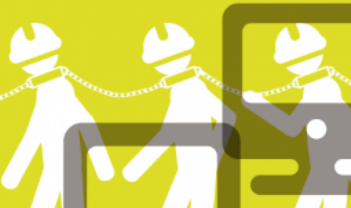 Taller «Què hi ha darrere dels mòbils?» organitzat per SETEM.