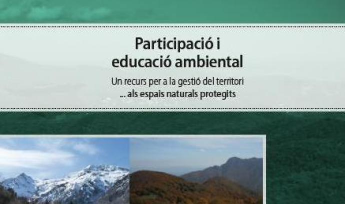 """Portada de """"Participació i educació ambiental"""", SCEA Font:"""