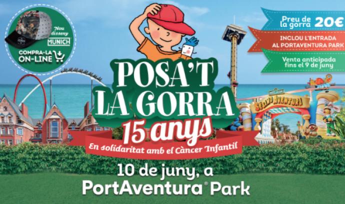 15a edició de la festa del Posa't la gorra! a PortAventura  Font: AFANOC