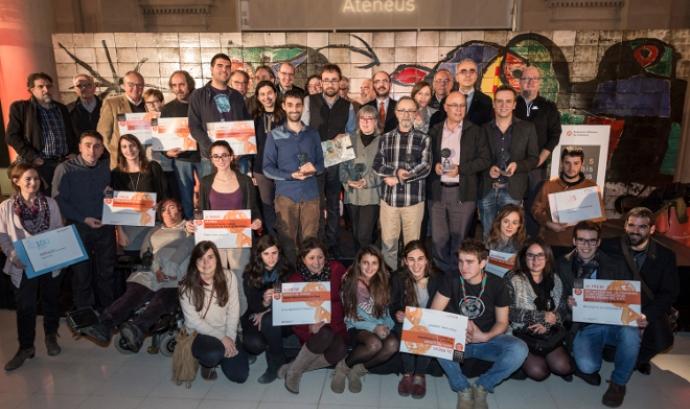 Premis Ateneus 2015 (imatge: Toni Galitó) Font: