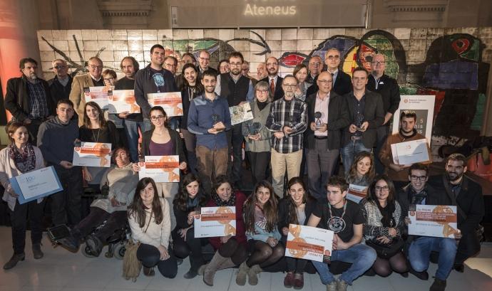 Premis Ateneus 2015 (foto: Toni Galitó) Font: