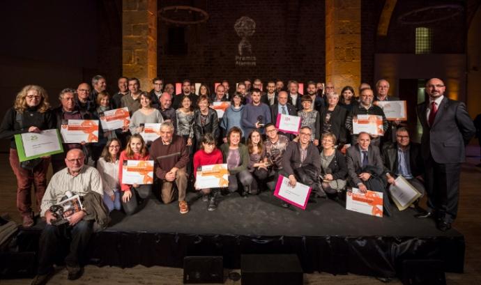 Premis Ateneus 2016 (foto: Toni Galitó) Font: