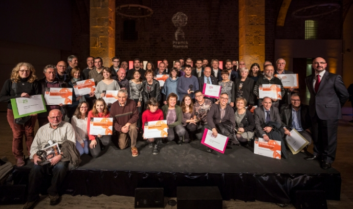 Lliurament Premis Ateneus 2016 Font: Toni Galitó