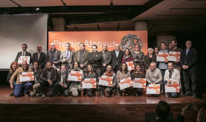 Premis Ateneus 2017 a La Pedrera Font: Toni Galitó