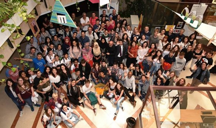 Foto de grup amb participants en aquesta 4a edició del concurs Font: Kabua