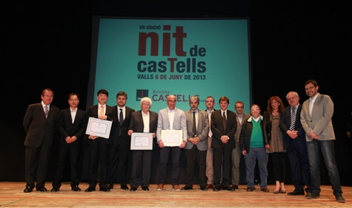 Premiats de la 7a edició de la Nit dels Castells Font: