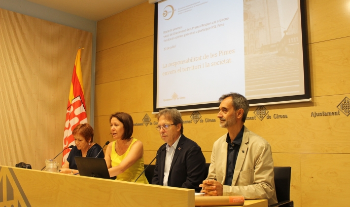 Presentació llirament 'Premis Respon.cat'. Font: Ajuntament de Girona