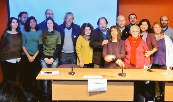 Presentació de la plataforma a Lafede.cat Font: David Minoves