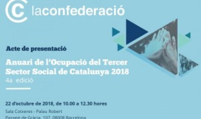Presentació de l''Anuari de l'Ocupació del Tercer Sector Social de Catalunya 2018'