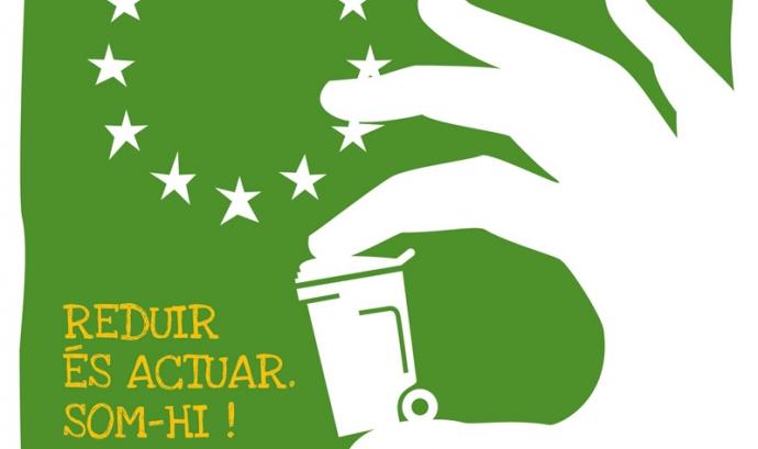 Cartell de La Setmana Europea de la Prevenció de Residus 2010