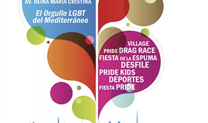Cartell Pride Barcelona Font: