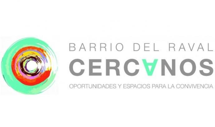 Logo del Programa Propers: Oportunitats i espais per a la convivència al Raval