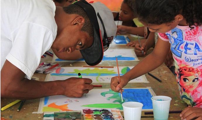 Projecte d'ARTISTLOVE a Brasil Font: ARTISTLOVE