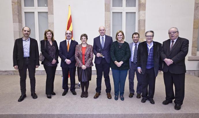 """Representants del projecte """"Enllaç"""" amb les autoritats"""