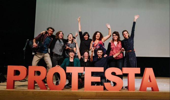 El Festival Protesta es defineix com activista, transformador i feminista i vol impulsar el canvi social.  Font: Associació Festival Protesta