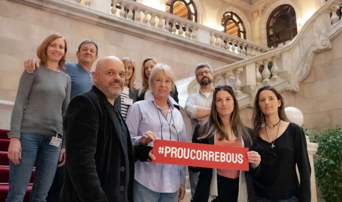 Membres Plataforma Prou Correbous Font: Plataforma Prou Correbous