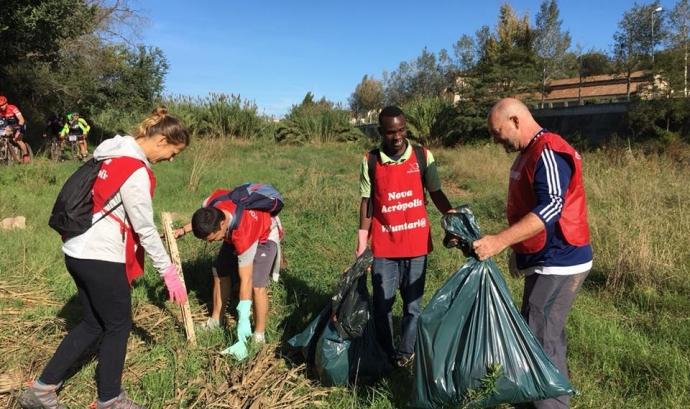 nova acròpolis voluntariat ambiental