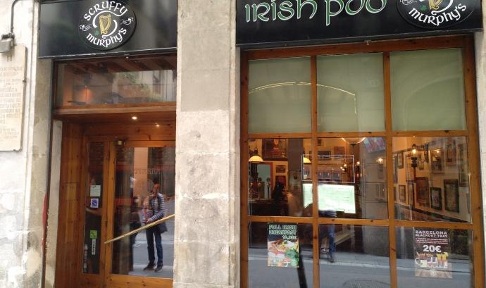 Imatge del pub irlandès que substitueix el Restaurant Pitarra Font: Oriol Jordan