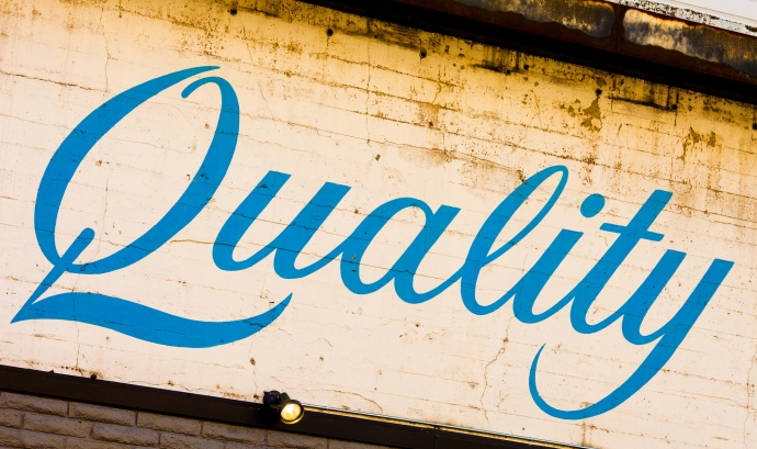 Quality. Font: Thomas Hawk (Flickr)