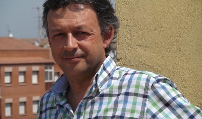 Rafael Allepuz, professor d'Economia de la UdL i president de Justícia i Pau a Lleida Font: