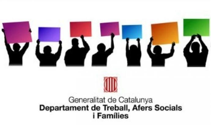 Logotip Departament de treball, Afers Socials i Famílies Font: